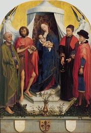van der Weyden | Medici Madonna | Giclée Canvas Print