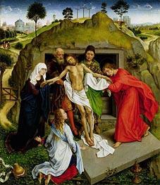 van der Weyden | Entombment of Christ | Giclée Canvas Print