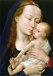 van der Weyden | Virgin and Child | Giclée Canvas Print