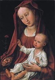 van der Weyden | Madonna with Child | Giclée Canvas Print