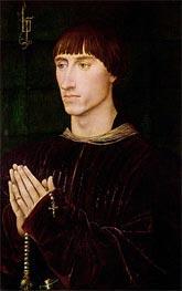 van der Weyden | Portrait of Philippe de Croy Seigneur of Sempy | Giclée Canvas Print