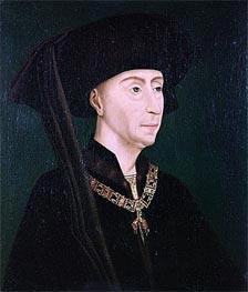 van der Weyden   Portrait of Philippe III the Good, undated   Giclée Canvas Print
