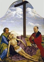van der Weyden | Pieta, c.1450 | Giclée Canvas Print