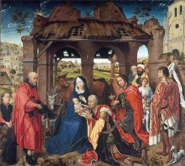 van der Weyden | Columba Altarpiece, c.1455 | Giclée Canvas Print