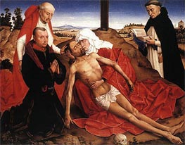van der Weyden | Pieta (Lamentation of Christ), undated | Giclée Canvas Print