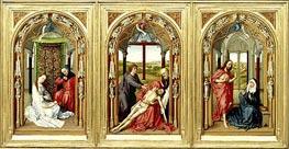 van der Weyden | Miraflores Altarpiece, c.1440 | Giclée Canvas Print