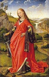 van der Weyden | Saint Catherine of Alexandria, c.1440 | Giclée Canvas Print