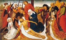 van der Weyden | Lamentation, c.1460/80 | Giclée Canvas Print