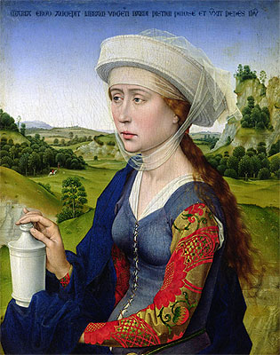St. Mary Magdalene, c.1450 | van der Weyden | Painting Reproduction