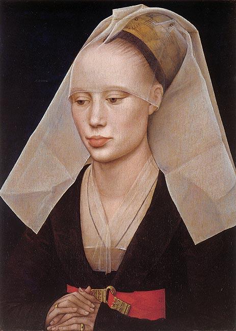 Portrait of a Lady, c.1460 | van der Weyden | Painting Reproduction