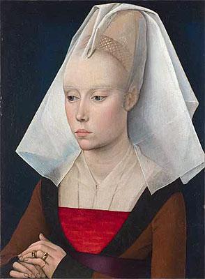 Portrait of a Lady, a.1460 | van der Weyden | Painting Reproduction