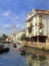 Rubens Santoro | Canale della Guerra, Venice | Giclée Canvas Print