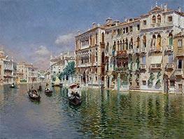 Rubens Santoro | Grand Canal, Venice | Giclée Canvas Print