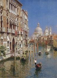 Rubens Santoro | The Grand Canal, Venice | Giclée Canvas Print