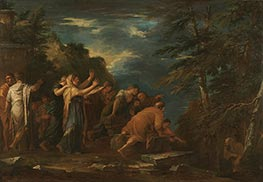 Pythagoras Emerging from the Underworld, 1662 by Salvator Rosa | Giclée Canvas Print