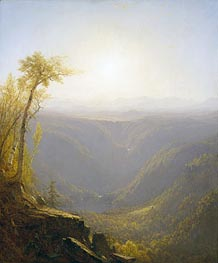 Sanford Robinson Gifford | A Gorge in the Mountains (Kauterskill Clove), 1862 | Giclée Canvas Print