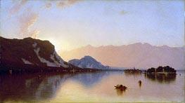 Sanford Robinson Gifford | Isola Bella in Lago Maggiore, 1871 | Giclée Canvas Print