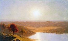Sanford Robinson Gifford | A View from the Berkshire Hills, near Pittsfield, Massachusetts, 1863 | Giclée Canvas Print