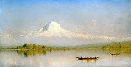 Sanford Robinson Gifford | Mount Rainier, Bay of Tacoma - Puget Sound, 1875 | Giclée Canvas Print