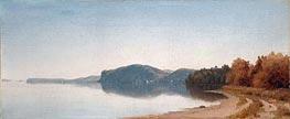 Sanford Robinson Gifford | Hook Mountain, Near Nyack, on the Hudson, 1866 | Giclée Canvas Print