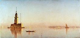 Sanford Robinson Gifford | Leander's Tower on the Bosporus, 1876 | Giclée Canvas Print