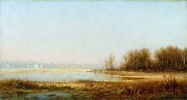 Sanford Robinson Gifford | Marshes of the Hudson, 1878 | Giclée Canvas Print