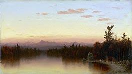 Sanford Robinson Gifford | Twilight in the Adirondacks, 1864 | Giclée Canvas Print