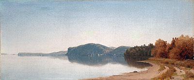 Hook Mountain, Near Nyack, on the Hudson, 1866 | Sanford Robinson Gifford | Painting Reproduction