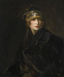 Sir John Lavery | The Gold Turban, 1929 | Giclée Canvas Print