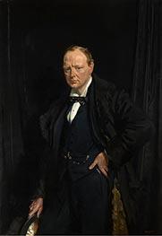 Winston Churchill, 1916 by Sir William Orpen | Giclée Canvas Print