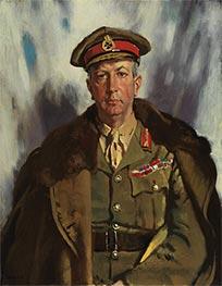 Lieutenant General Sir Arthur Currie, 1919 by Sir William Orpen | Giclée Canvas Print