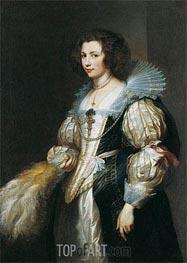 van Dyck | Portrait of Maria Louisa de Tassis, c.1629/30 | Giclée Canvas Print