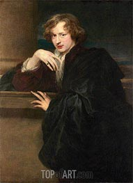 van Dyck | Self-Portrait, c.1620/21 | Giclée Canvas Print