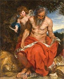 van Dyck | St Jerome | Giclée Canvas Print