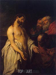 van Dyck | Appearance of Christ to his Disciples, c.1625/26 | Giclée Canvas Print