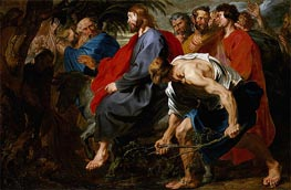 van Dyck | Entry of Christ into Jerusalem, a.1617 | Giclée Canvas Print