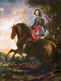The Duke of Arenberg, b.1641 by van Dyck | Giclée Canvas Print