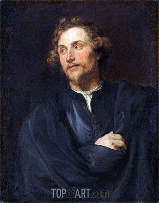 Portrait of the Sculptor Georg Petel, c.1627/28 | van Dyck | Painting Reproduction