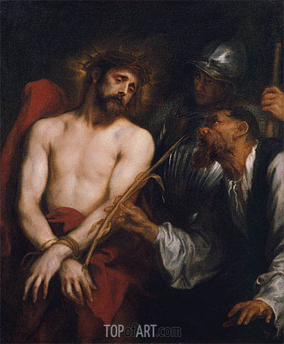 The Mocking of Christ, c.1628/30 | van Dyck | Painting Reproduction