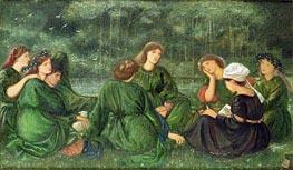 Burne-Jones   Green Summer, 1864   Giclée Canvas Print