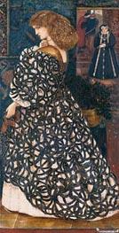 Burne-Jones   Sidonia von Bork, 1860   Giclée Canvas Print