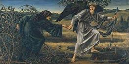 Burne-Jones   Love and the Pilgrim, c.1896/97   Giclée Canvas Print