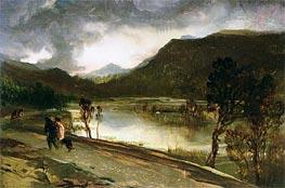 Landseer   A Highland Loch   Giclée Canvas Print