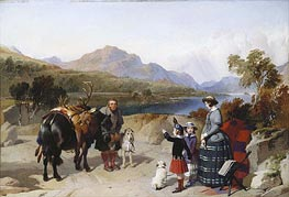 Landseer | Queen Victoria at Loch Laggan, 1847 | Giclée Canvas Print