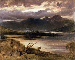 Landseer | Lake Scene, a.1830 | Giclée Canvas Print