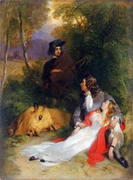Landseer | The Bride of Lammermoor, a.1830 | Giclée Canvas Print
