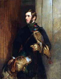 Landseer | The Falconer (Portrait of William Russell), a.1830 | Giclée Canvas Print