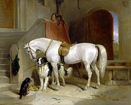 Landseer | Favourites, the Property of H.R.H. Prince George of Cambridge, c.1834/35 | Giclée Canvas Print