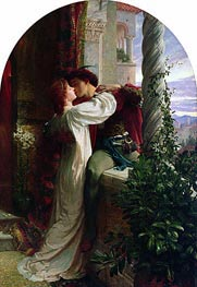 Frank Dicksee   Romeo and Juliet, 1884   Giclée Canvas Print