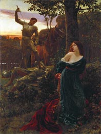 Frank Dicksee   Chivalry, 1885   Giclée Canvas Print